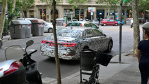Audi A6 Spy Pics Barcelona
