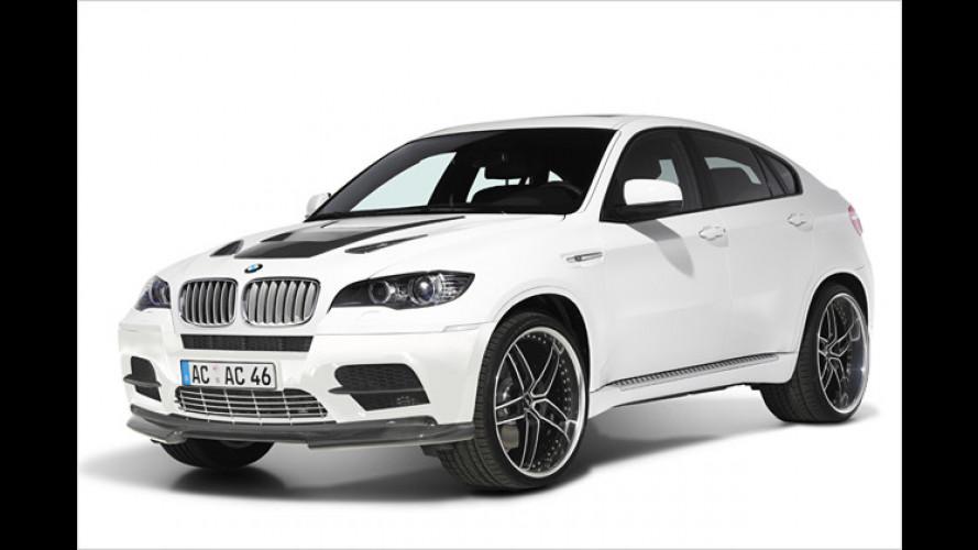 Noch mehr Motorsport-Gene: BMW X6 M von AC Schnitzer