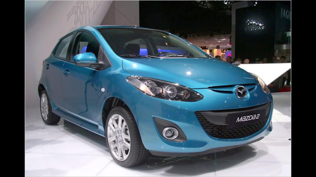 Mazda 2 überarbeitet