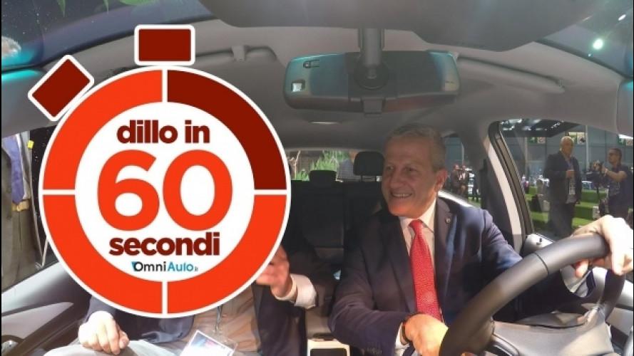 Salone di Parigi, la Opel Ampera-e in 60 secondi  [VIDEO]