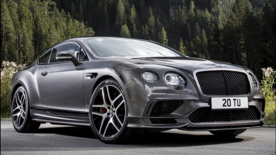 Continental GT Supersports, la Bentley più potente di sempre