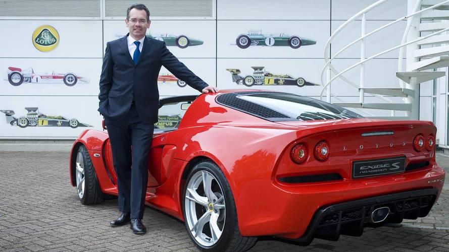 Lotus CEO'su Jean-Marc Gales