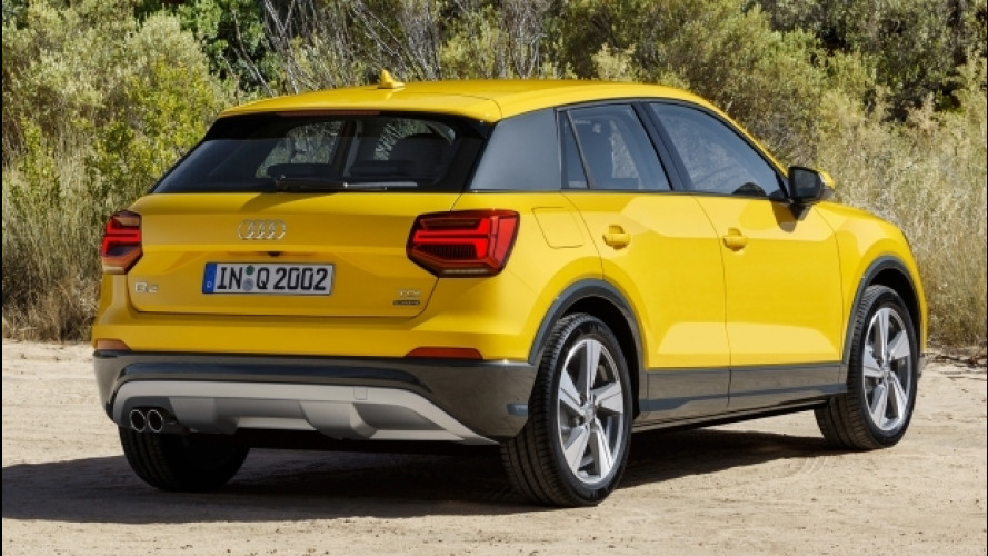 Audi Q2, col 2.0 TDI diventa grande