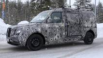 LEVC commercial vehicle spy photo