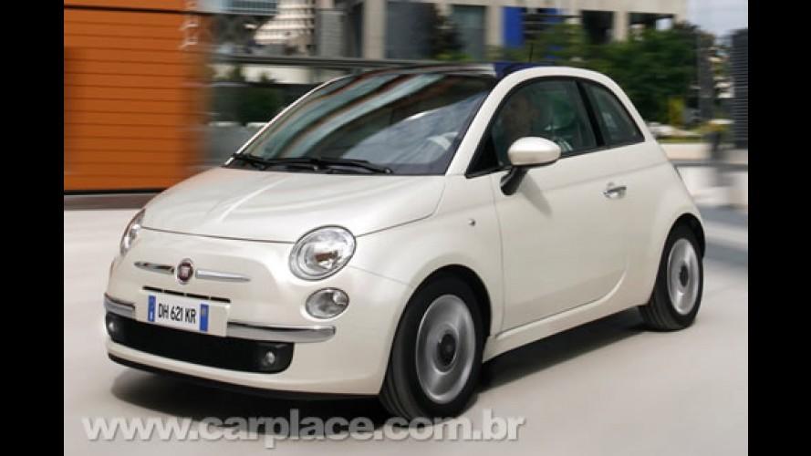 Fiat 500 é lançado oficialmente na Argentina - Modelo custa R$ 67.600