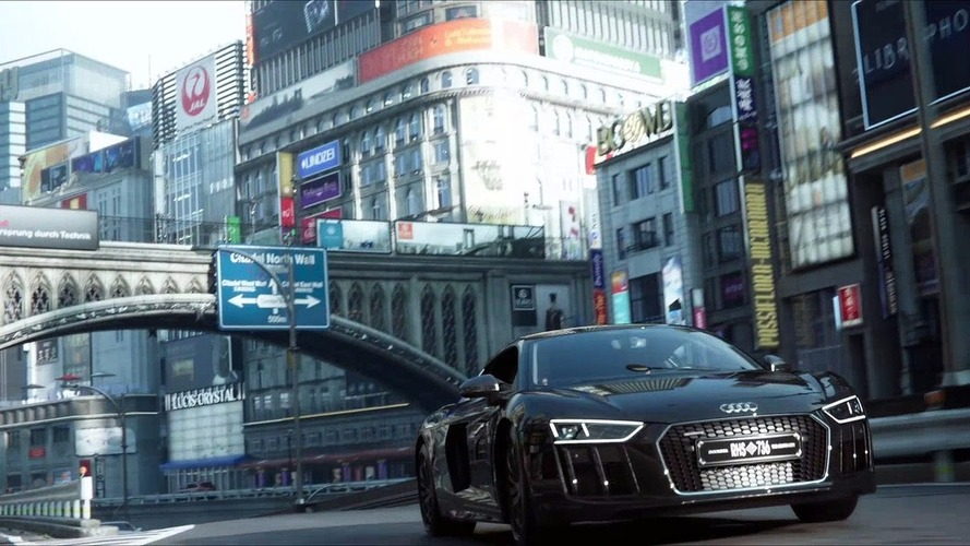 L'Audi R8 V10 plus du film Final Fantasy XV