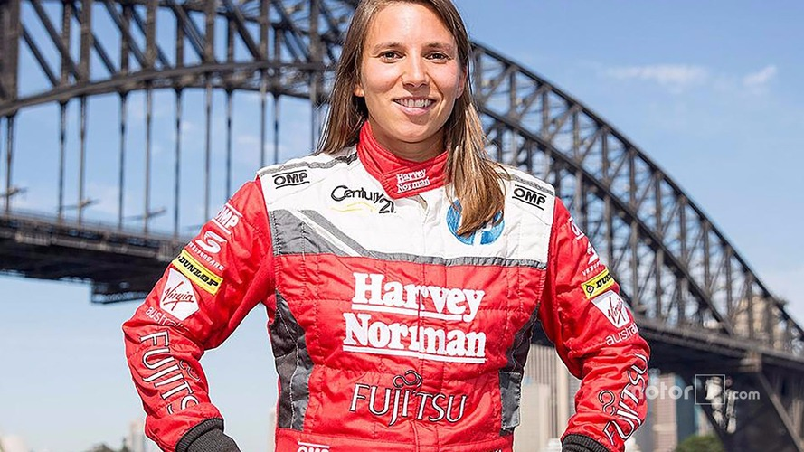 Swiss 28 year-old de Silvestro is the first full-time female Australian Supercar driver