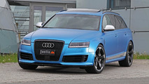 Photo appreciation: MTM tuned Audi RS6 with anodized matt blue metallic wrap