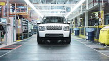 1,000,000th Land Rover Discovery 29.2.2012