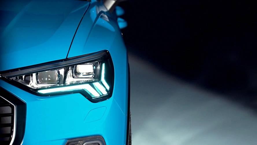 Audi Q3 2018 mit Video angeteasert