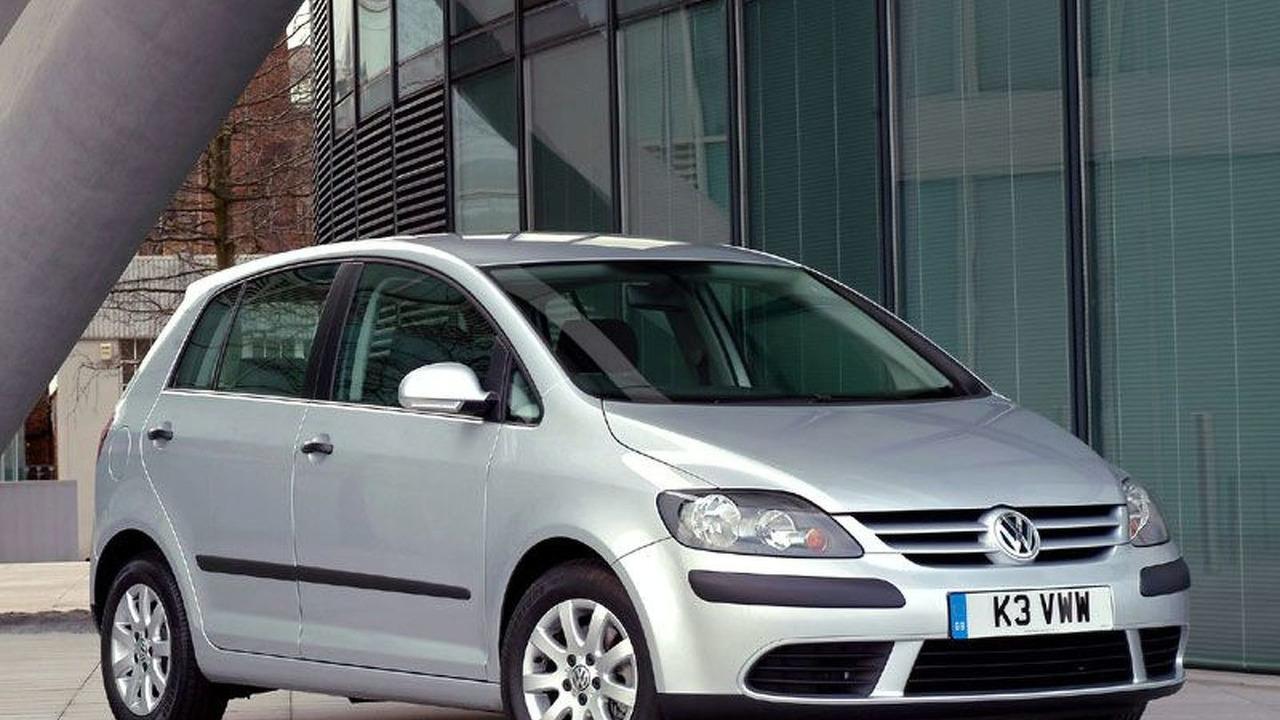 VW Golf Plus UK specification