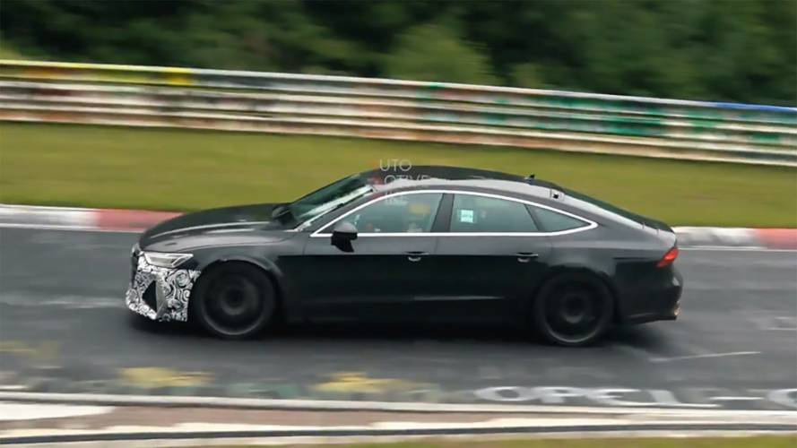 New Audi RS7 Spied Going Fast Through The Nürburgring Corners