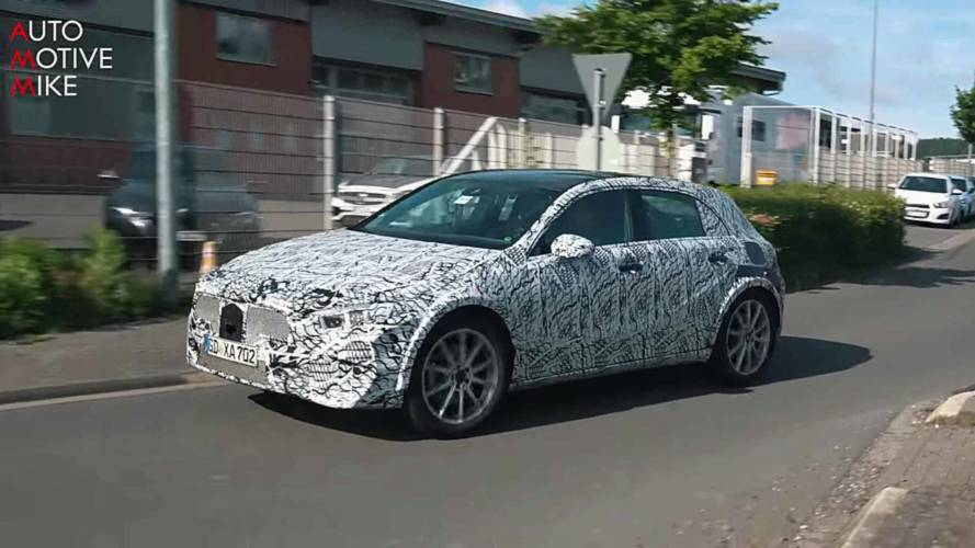 Next Mercedes GLA-Class Spied Showing Svelte Shape At The 'Ring