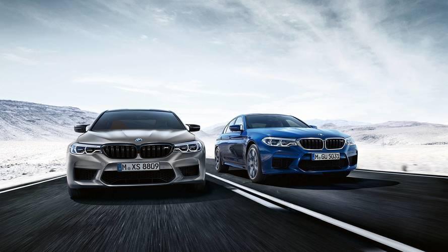 2018 BMW M5 Competition detayları sızdırıldı