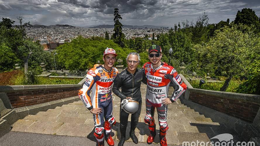 Jorge Lorenzo, en el GP de Cataluña 2018 de MotoGP