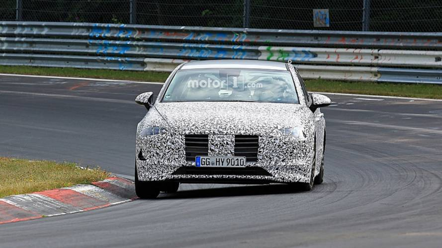 2020 Hyundai i40 spy photos
