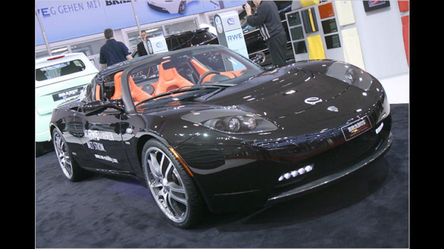 Tesla Roadster Sport: Brabus Green Package
