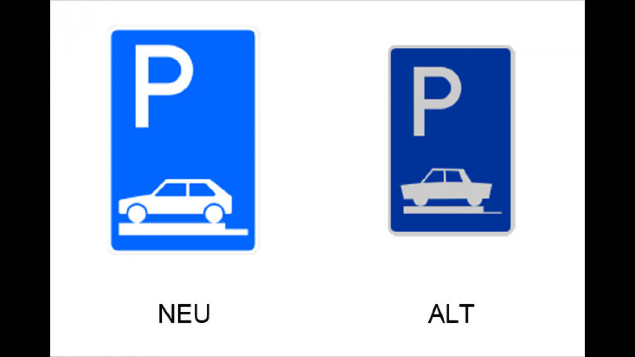 Parken ganz auf Gehwegen quer zur Fahrtrichtung links