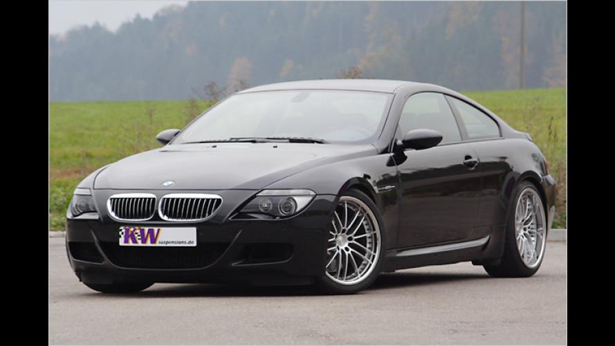 V3-Fahrwerke für BMW M6 und Mercedes-C-Klasse