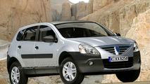 Dacia Logan SUV Spied