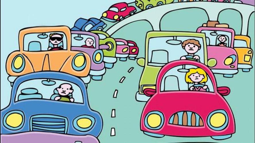 In Italia c'è un'automobile ogni due abitanti
