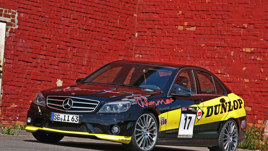 Mercedes C63 AMG Dunlop-Performance by Wimmer RS