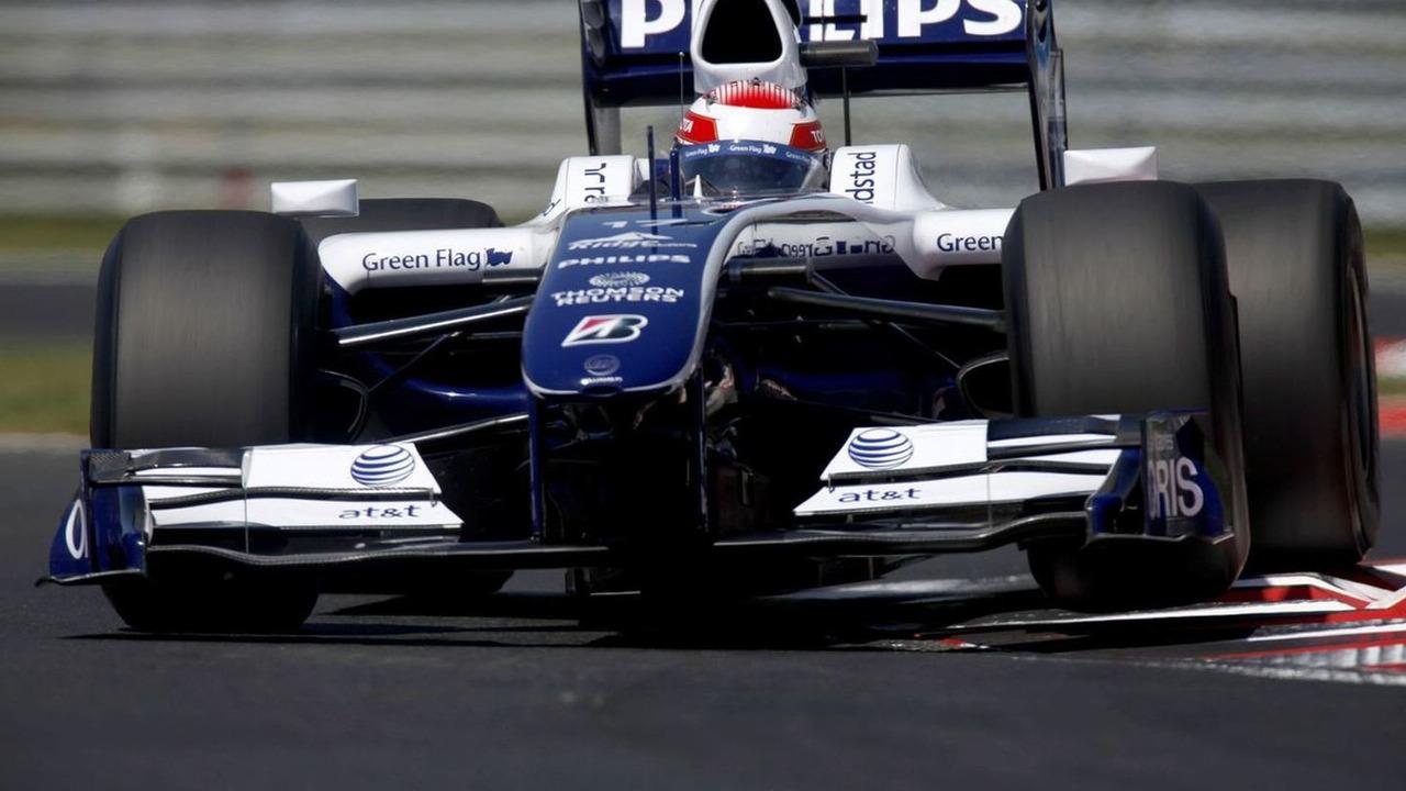 Kazuki Nakajima, Williams FW31 Toyota. 2009 Hungarian Grand Prix