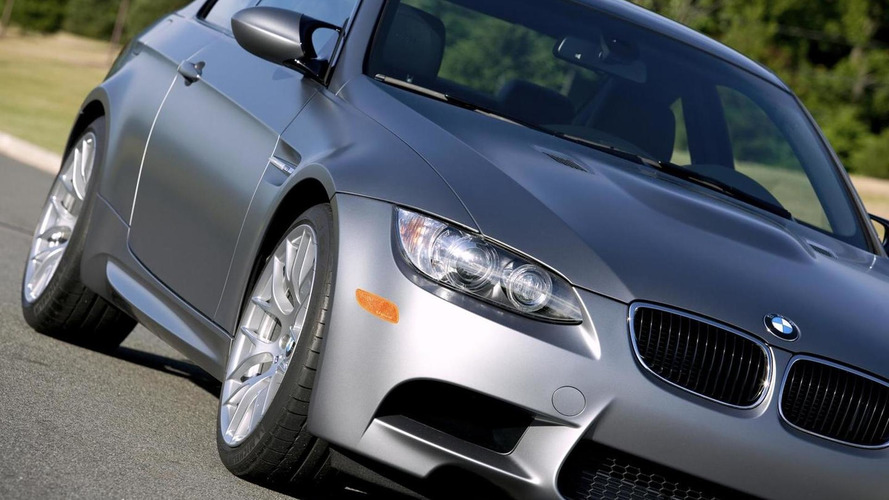 BMW M3 in Frozen Gray requires paint care agreement from buyers