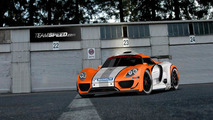 Porsche 918 Coupe racecar artist rendering in GT3 R Hybrid livery, 1024, 31.12.2010
