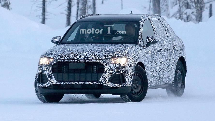 Next-Gen Audi Q3 Spied Enjoying The Winter Weather