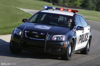 Chevrolet Caprice Police Patrol Vehicle