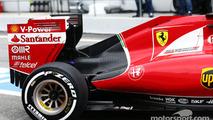 Ferrari SF15-T engine cover detail