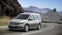Volkswagen Caddy Alltrack introduced with slightly rugged look