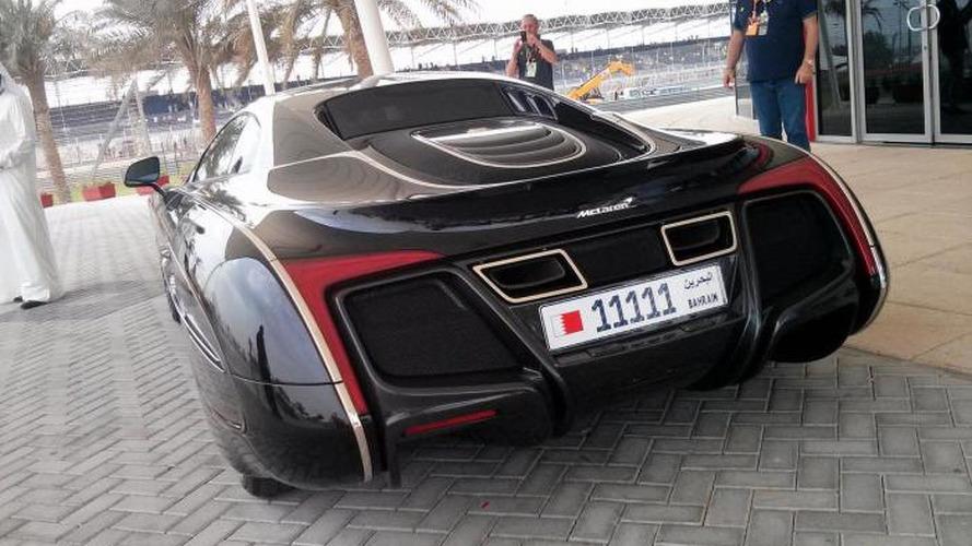 McLaren X-1 photographed at Bahrain GP