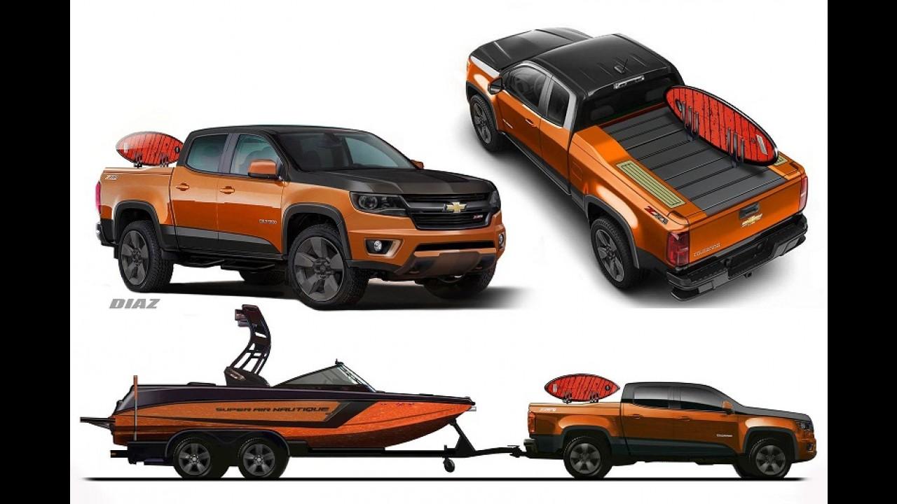 Chevrolet Colorado versão Nautique também é apresentada no SEMA Show