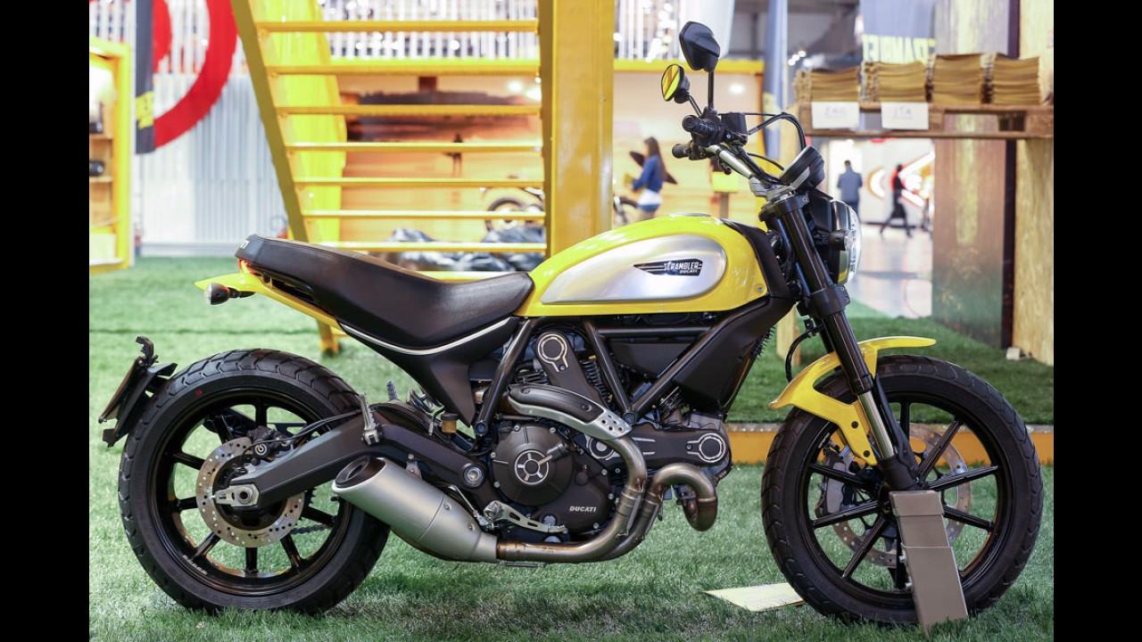 Ducati Scrambler, no Brasil em 2015, é eleita moto mais bela do Salão de Milão
