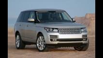 Range Rover Vogue passa por recall no Brasil por risco de incêndio