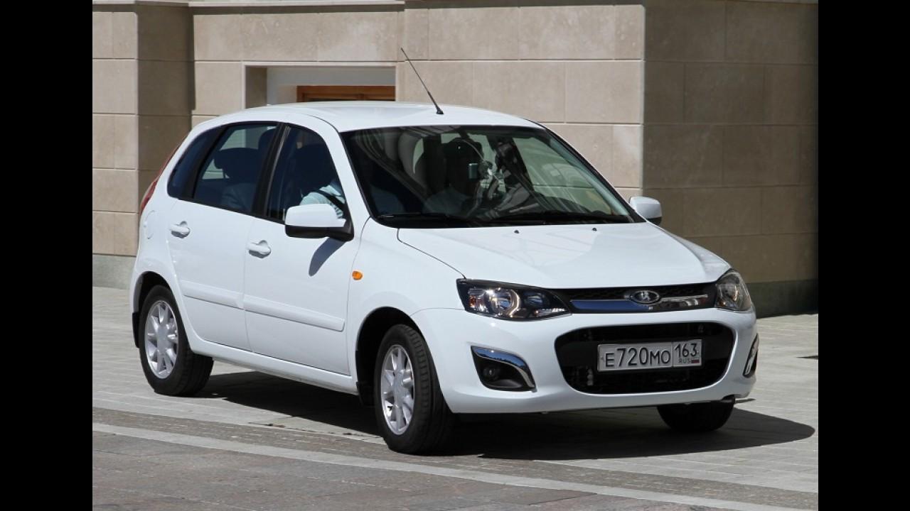 Lada terá cinco novos modelos até 2017, incluindo rival do EcoSport