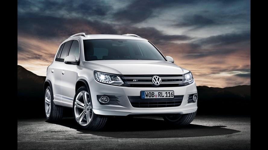 Volkswagen inicia comercialização do Tiguan com pacote esportivo R-Line na Europa