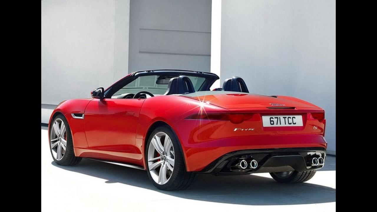 Vídeo: Jaguar F-Type 2013 em ação - Veja também os detalhes e preços