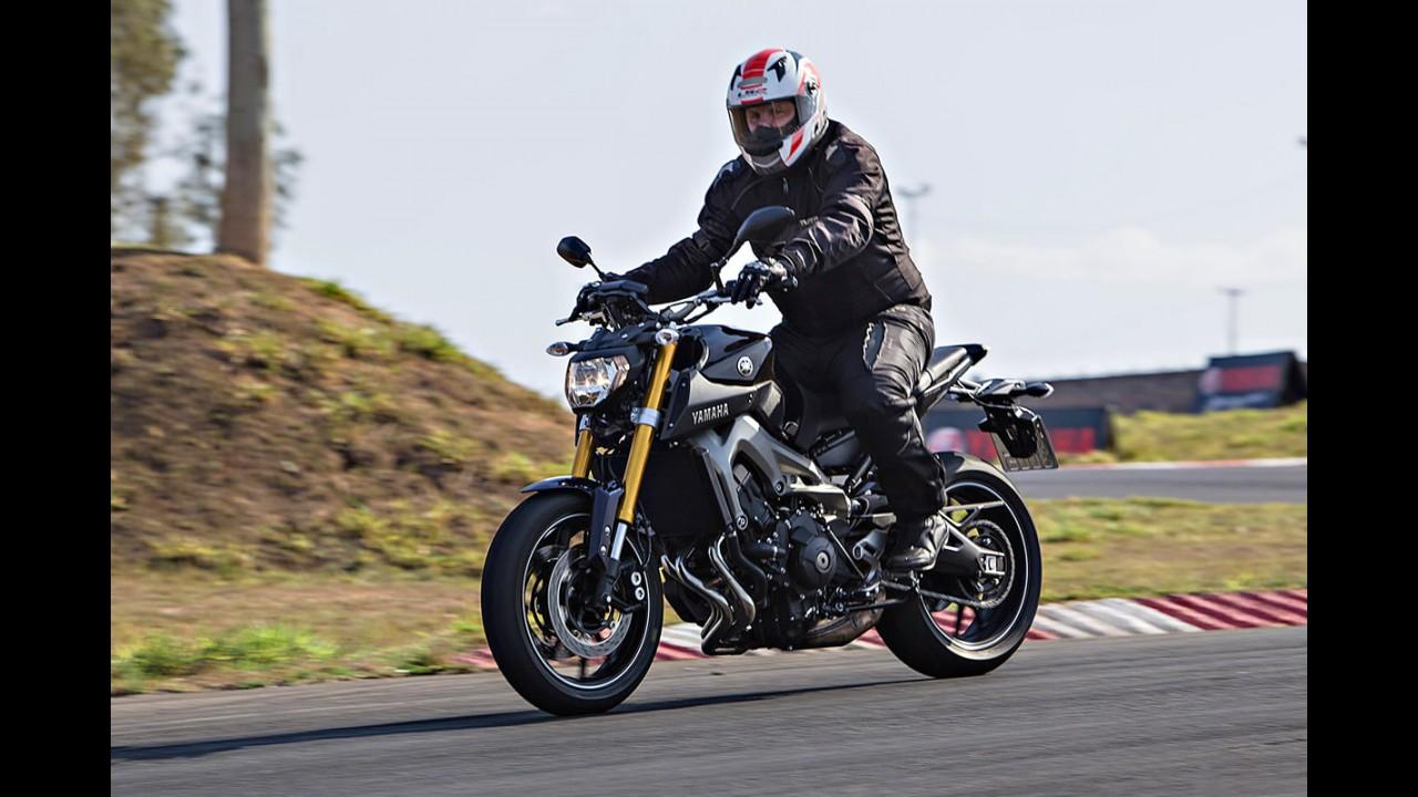"Volta rápida: invocada e divertida, Yamaha MT-09 chega para ""causar"""