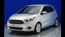 Este é o novo Ford Ka 2014: imagens oficiais, motores e o inédito sedã