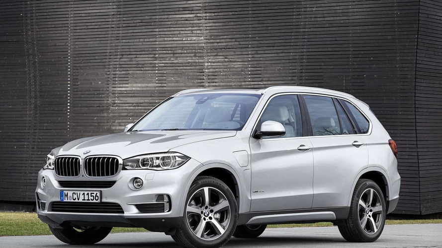 BMW X5 xDrive40e unveiled in production guise