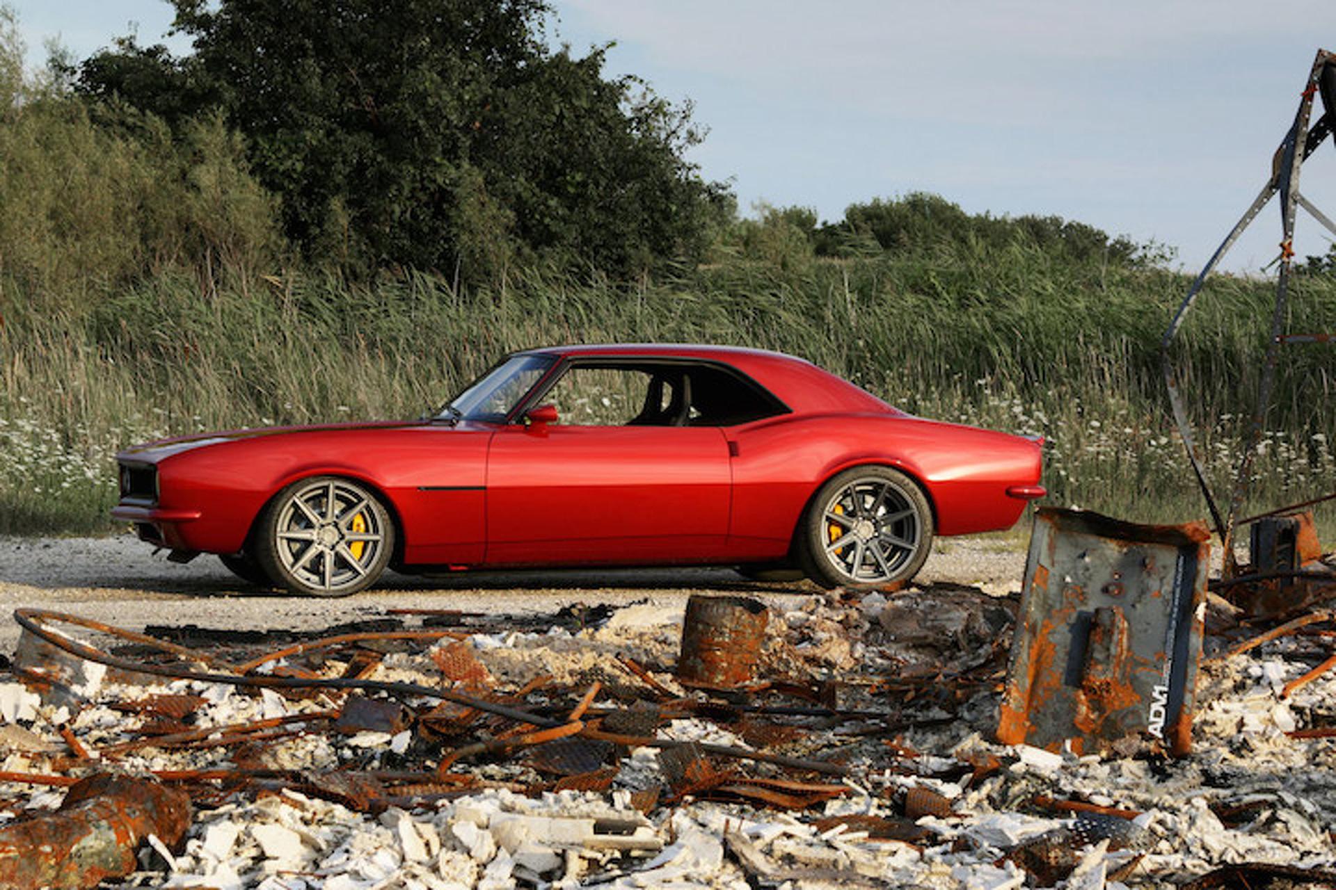 This 1968 Chevrolet Camaro is Rocking Some Aftermarket Wheels Hard