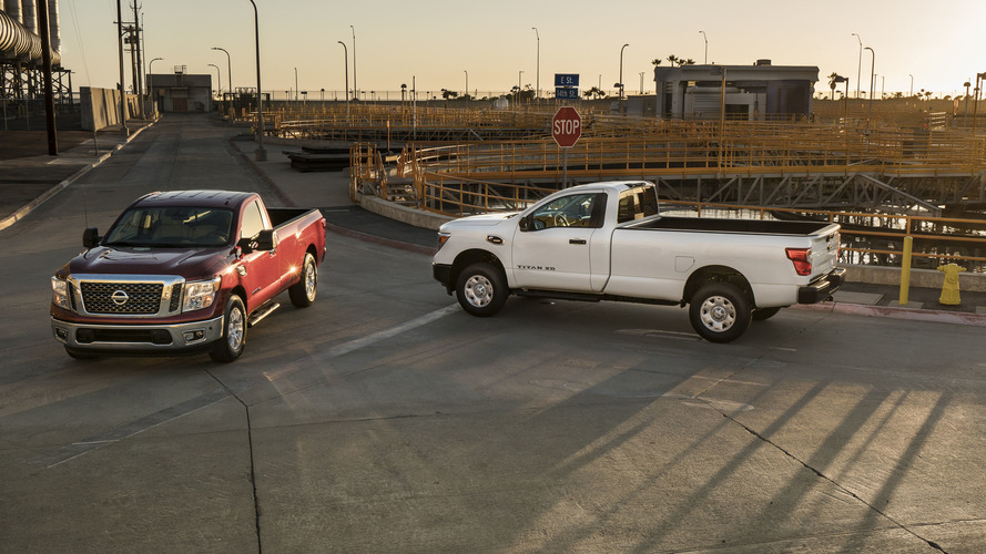 Nissan unveils 2017 Titan Single Cabs