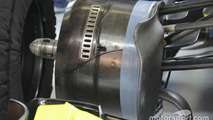Williams FW38 front detail