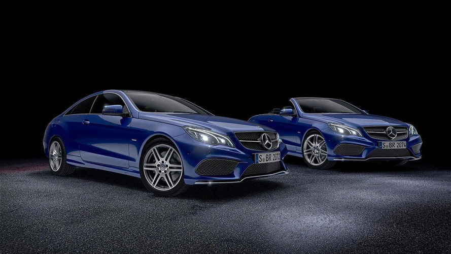 Mercedes E-Class Coupe & Cabrio gain two new special edition packages