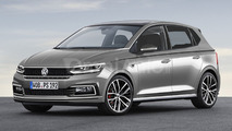 2017 VW Polo render