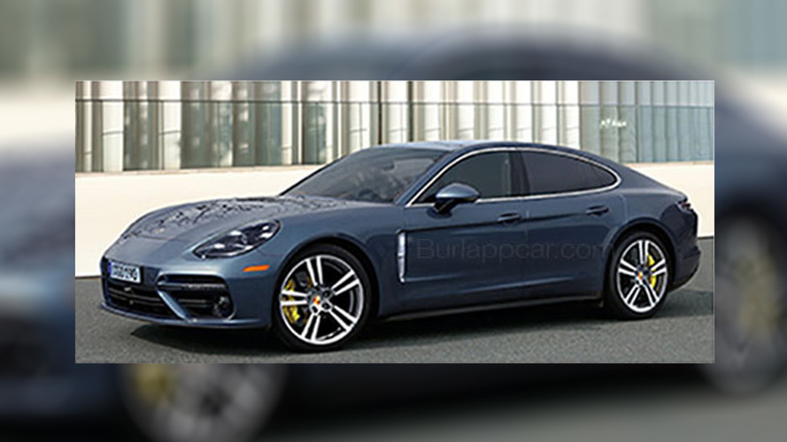 Is this the all-new 2017 Porsche Panamera?
