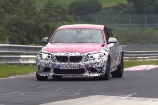 BMW M2 Spotted During Testing at the 'Ring [Video]